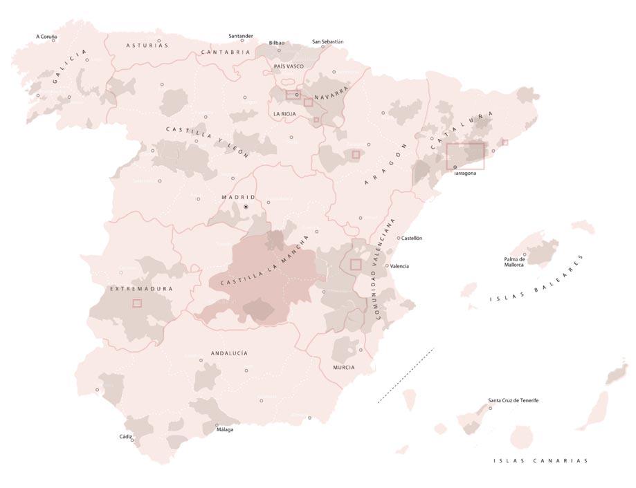 Mapa DOs CECRV